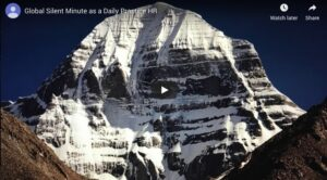 Global Silent Minute: Ongoing Daily Practice