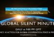 Global Silent Minute and the power of Concordant Thoughts