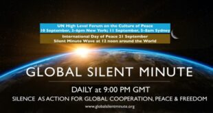global silent minute forum
