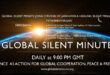 Global Silent Minute – 75th Anniversary of Hiroshima and Nagasaki