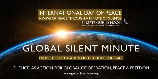 Global Silent Minute International Day of Peace