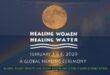Healing Women healing water