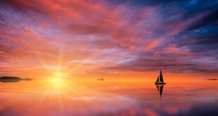 In Silence We Sail Into Spirit