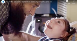 The foster father who cares when terminally ill kids have no one