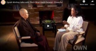 Oprah Winfrey talks with Thich Nhat Hanh – Excerpt