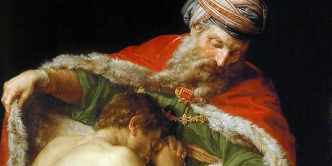 The Return of the Prodigal Son by Pompeo Batoni 1773