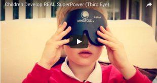 Children Develop REAL SuperPower (Third Eye)