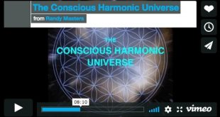 conscious harmonic universe
