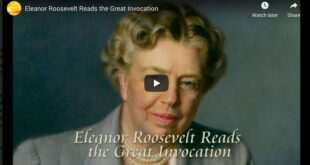 Eleanor Roosevelt Reads the Great Invocation