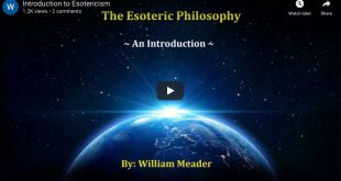 esoteric philosophy talk by William Meader