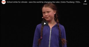 School strike for climate – save the world by changing the rules | Greta Thunberg | TEDxStockholm