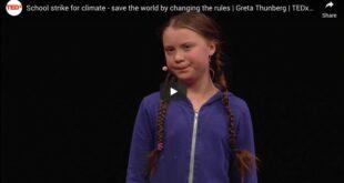 greta thunberg climate change video