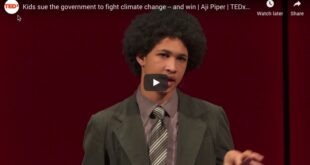 Kids sue the government to fight climate change — and win | Aji Piper | TEDxSeattle