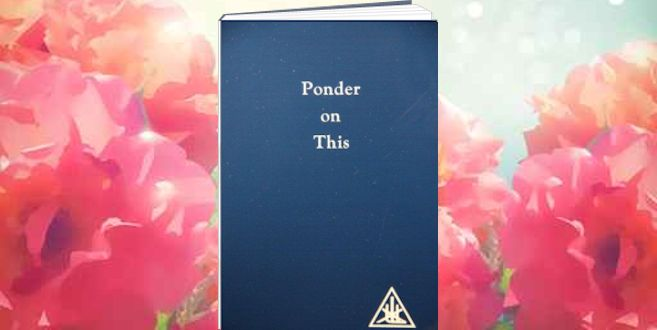 Book Of The Month Ponder On This By Alice A Bailey Sydney Goodwill