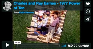 Charles and Ray Eames – 1977 Power of Ten