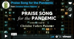 Praise Song for the Pandemic