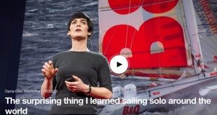 The surprising thing I learned while sailing solo around the world