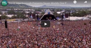 David Attenborough Presents Seven Worlds One Planet Live From Glastonbury | BBC Earth