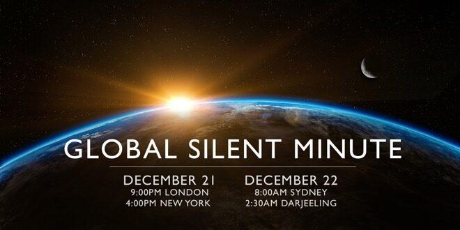 global silent minute