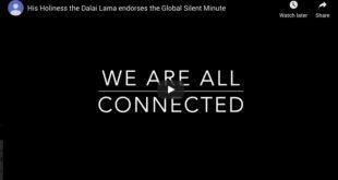 silent minute dalai lama