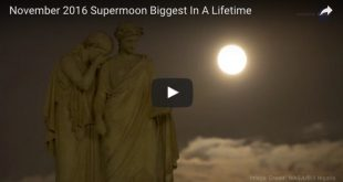 November 2016 Supermoon Biggest In A Lifetime
