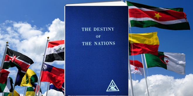 The Destiny of the Nations by Alice Bailey