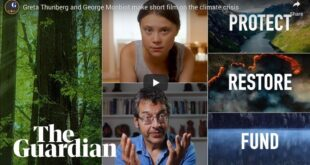 Greta Thunberg and George Monbiot make short film on the climate crisis